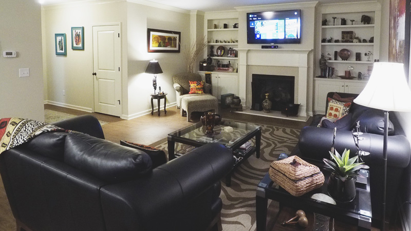 Buckhead Client Moved Into A New House And Requested That All Flat Screens  Be Hung On The Wall, Wires Hidden, Streaming Movies And Music, And An Easy  To Use ...