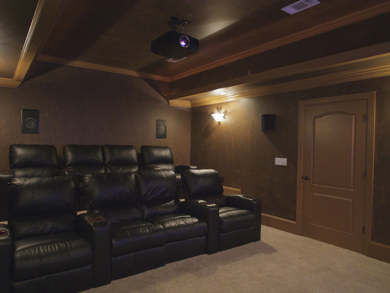 basement theaters by landry luxury electronics rh landryluxury com basement home theater wiring Basement Electrical Wiring